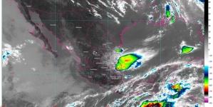 Onda tropical 2 y frente frío 69 generan lluvias en el oriente, sur y sureste de México