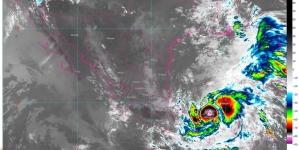 Lluvias en península de Yucatán y sureste, por Cristobal: oleaje de hasta 5 m y posibilidad de trombas en costas del Golfo de México