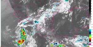 En próximas horas, lluvias fuertes en Chiapas, Guerrero, Michoacán, Oaxaca y Zacatecas; temperaturas superiores a 40 ° C en 16 estados