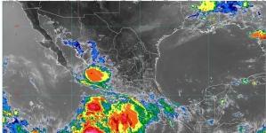 Lluvias en Colima, Jalisco, Michoacán, Nayarit y Sinaloa; tormenta tropical Cristina genera oleaje elevado de 2 a 3 m en Pacífico medio