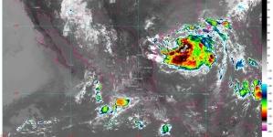 Lluvias intensas para Coahuila, Jalisco, Nuevo León y Tamaulipas; temperaturas superiores a 35 °C en 17 estados