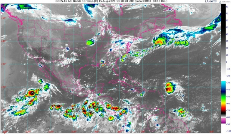 ¡A protegerse! Lluvias muy fuertes para Chiapas, Guerrero, Oaxaca y Veracruz