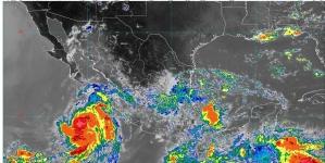 Lluvias intensas este día en Chiapas, Oaxaca y Veracruz; Elida ocasionará lluvias en Baja California Sur, Jalisco y Nayarit