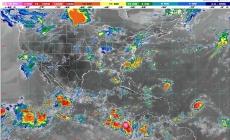 Lluvias muy fuertes para Colima, Jalisco, Michoacán y Nayarit