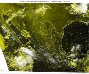 ¡Viene el agua! Lluvias en Chiapas, Jalisco, Michoacán, Nayarit, Oaxaca y Veracruz