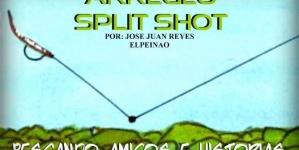 Split shot para pesca de lobina