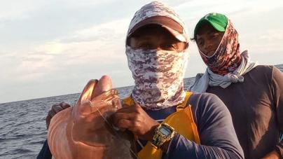 Santy Prócoro, invita a pescar y conocer El Cuyo, Yucatán, en el Golfo de México