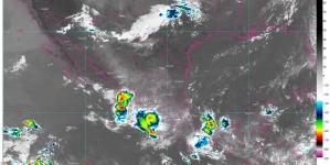 ¡Occidente bajo el agua! Se pronostican lluvias muy fuertes para Colima, Jalisco, Michoacán y Nayarit