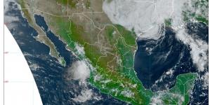 Otra vez lluvias en Chiapas, Campeche, Guerrero, Michoacán y Oaxaca; hasta 45 °C en Baja California, Baja California Sur, Sinaloa y Sonora