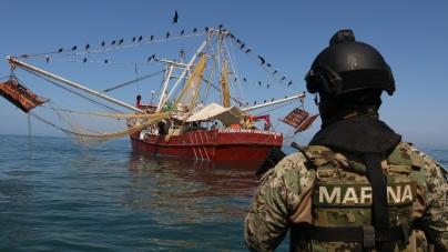 Sin contratiempos y apegado a normas, en altamar y en bahías, sigue temporada de captura de camarón en el océano Pacífico Mexicano