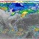 Lluvias torrenciales en Chiapas, Oaxaca, Tabasco y Veracruz; heladas, nieve o aguanieve en norte y centro de México